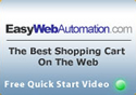 Easy Web Automation Shopping Cart